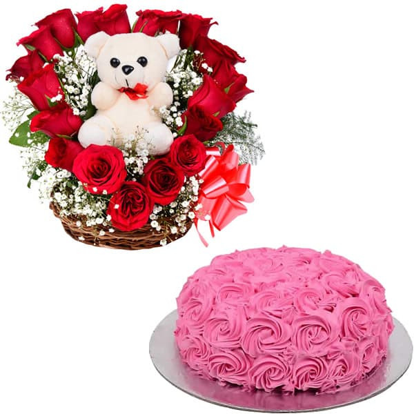 I Am Your's + Mini Rosy Cake