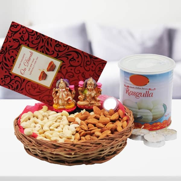 Festival Gift with Rasgullas