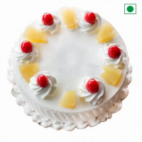 Rich Pineapple Cake Eggless Mini