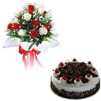 Love Posy+Black Forest Mini