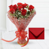 Red Roses Bouquet Petite